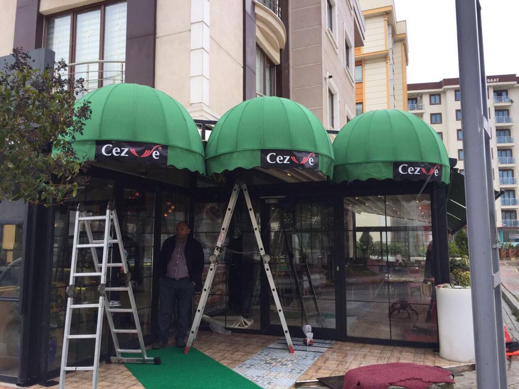 sabit dekoratif tente model 1